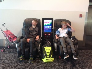 Waiting for the Plane